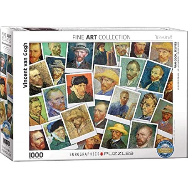 Autoportrety, Vincent van Gogh, 1000el. (Smart Cut Technology) - Sklep Art Puzzle